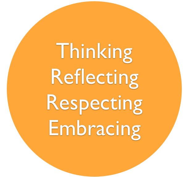 Thinking | Reflecting | Respecting | Embracing