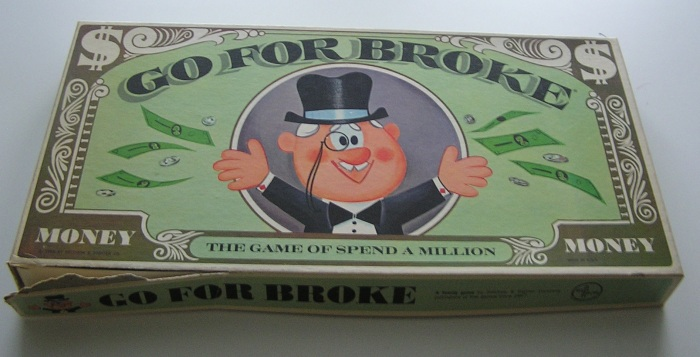 Go for Broke board game.