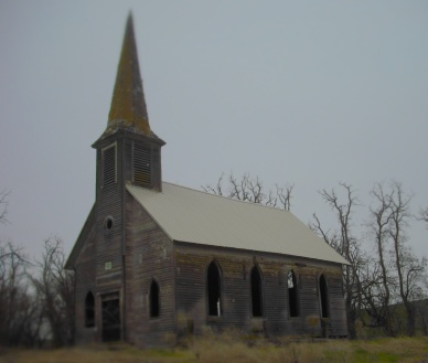 Hollow Church, Sherman County, Oregon. Photo by Tim Graves.