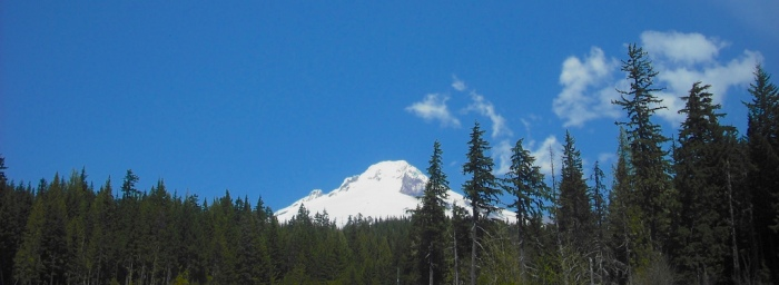 Mt. Hood from US 35. Photo by Tim Graves.