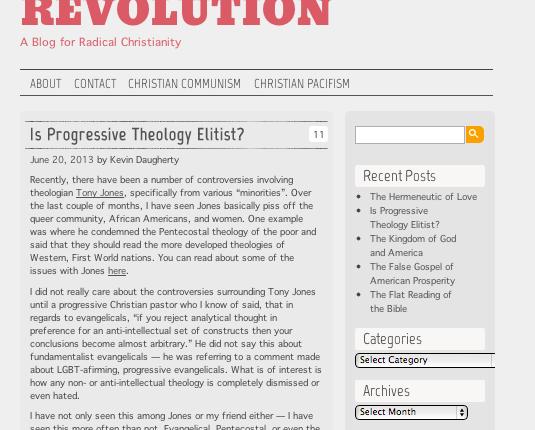 Is Progressive TheologyElitist?