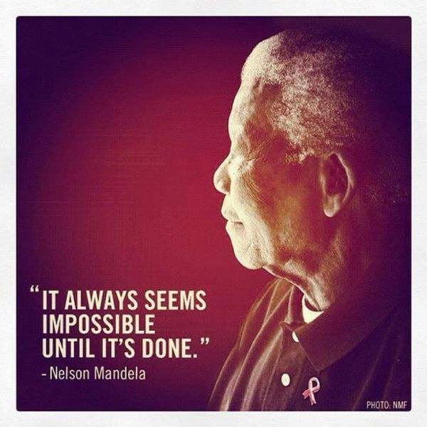 A Memory & Hope Upon the Death of Nelson Mandela