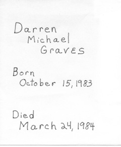 Darren Michael Graves