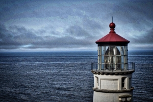 The Haceta Head lighthouse near Florence, Oregon is a relic of another time.  Photo by Tim Graves (Creative Commons License BY-NC-ND 3.0)