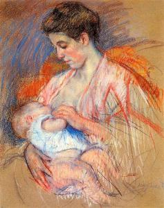 Artist: Mary Cassatt Start Date: c.1907 Completion Date:1908 Public Domain Source: wikiart